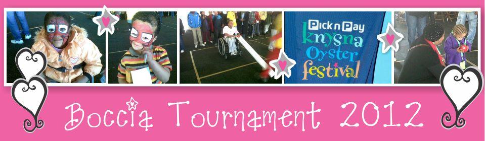 Boccia Tournament 2012