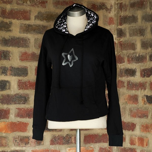 Hoody Black Ladies 1