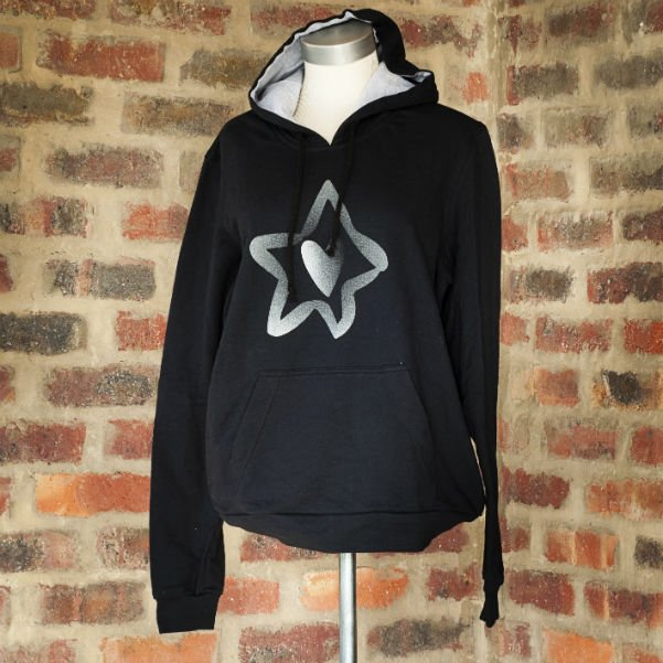 Hoody Black Mens 1