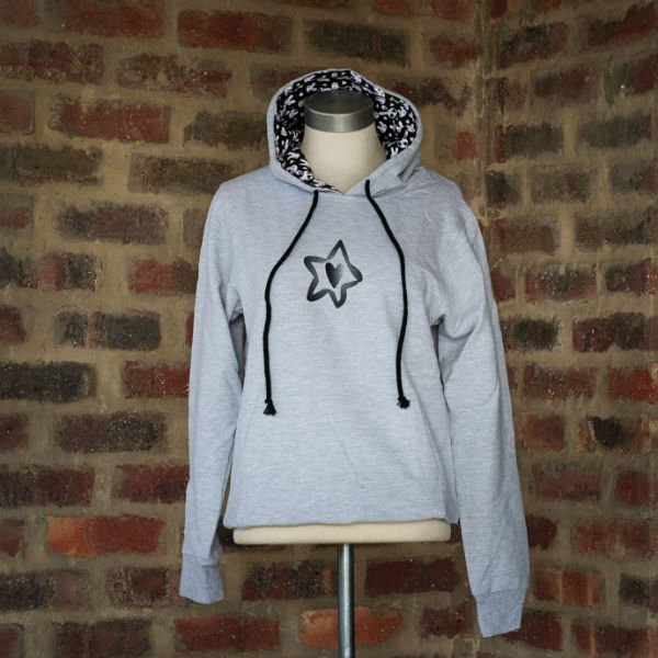 Hoody Grey Ladies 1