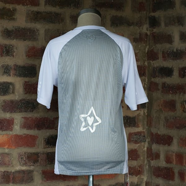 Runnig t-shirt White/Silver Mens 1