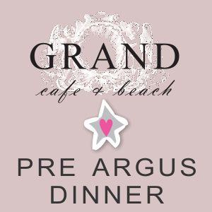 The Grand Café Pre-Argus dinner with 'Sabrina' 1