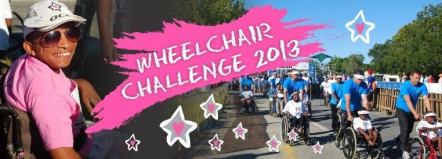 wheelchair challenge 2013