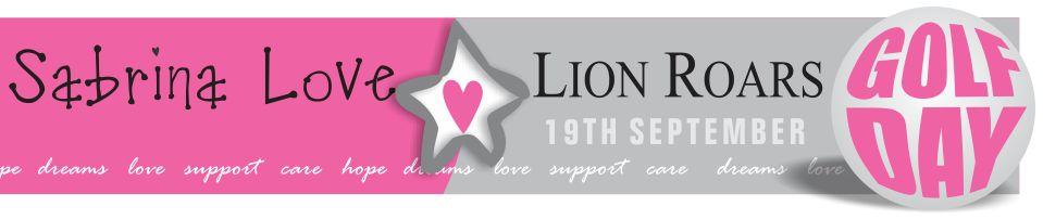 Lion Roars & Sabrina Love Golf Day 19 September 2014