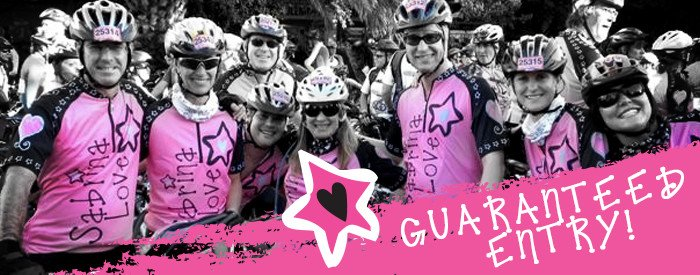 ENTER NOW TO RIDE WITH TEAM SABRINA
