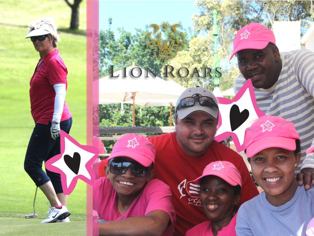 Sabrina Love Lion Roars Golf Day 2015