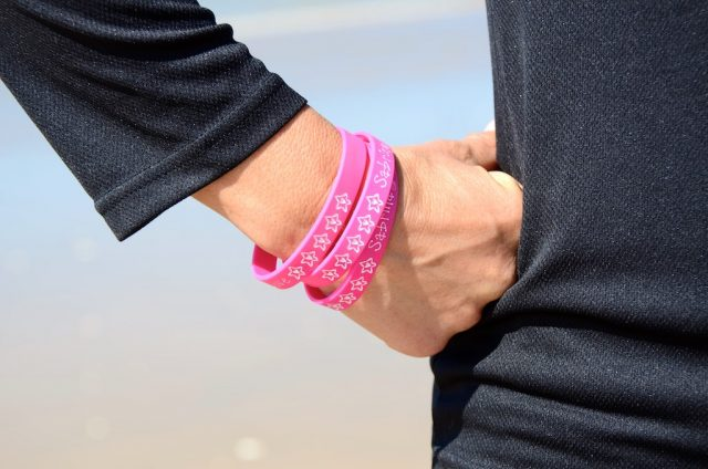 Silicone wrist bands 1