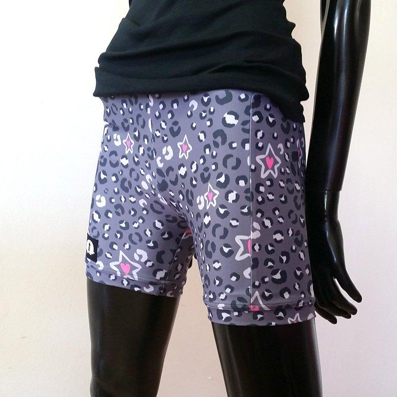 Sport Shorts Leopard Print Adult 1