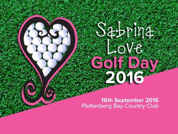 Sabrina Love Foundation 2016 Golf Day
