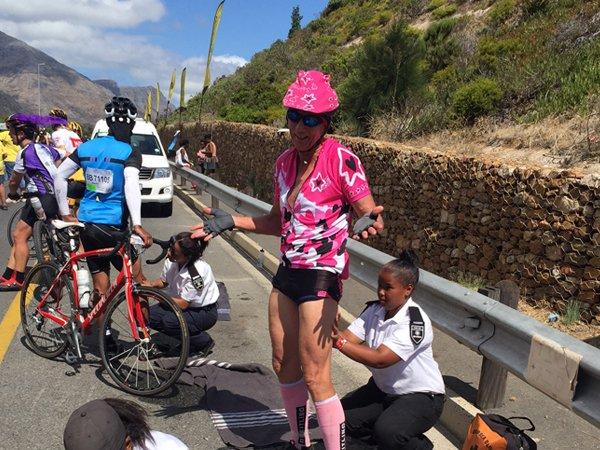 Dear dedicated Team Sabrina riders…