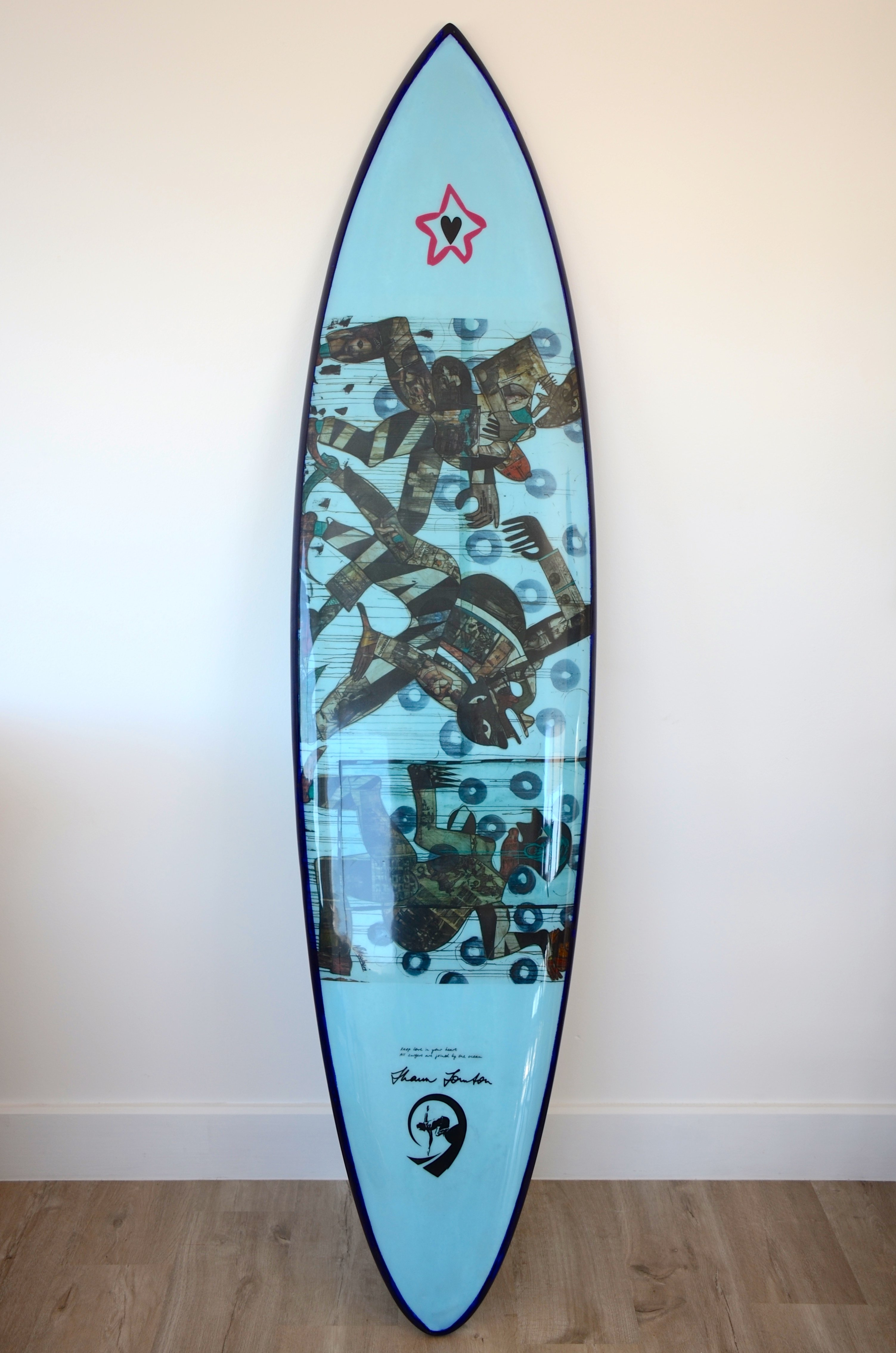 Shaun Tomson limited edition replica surfboard 1