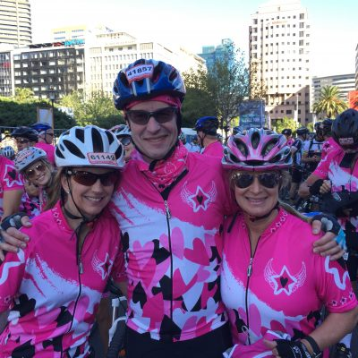 Philip Reunert raised R69 881 cycling the Cape Town Cycle Tour