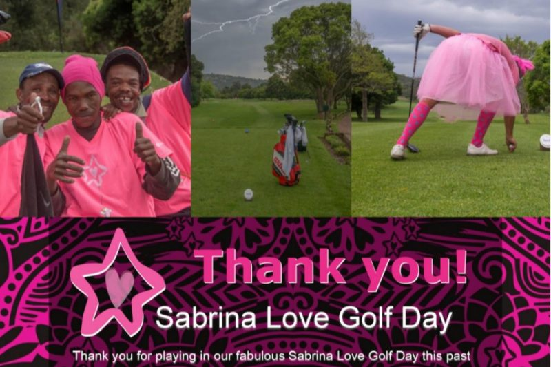 Sabrina Love Golf Day