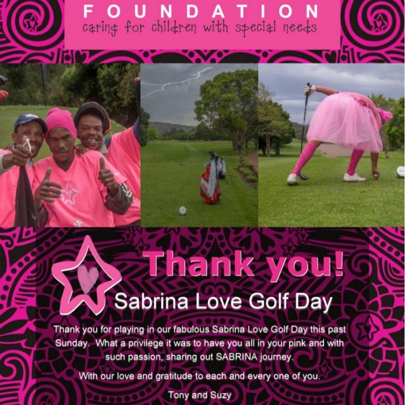 Sabrina Love Golf Day