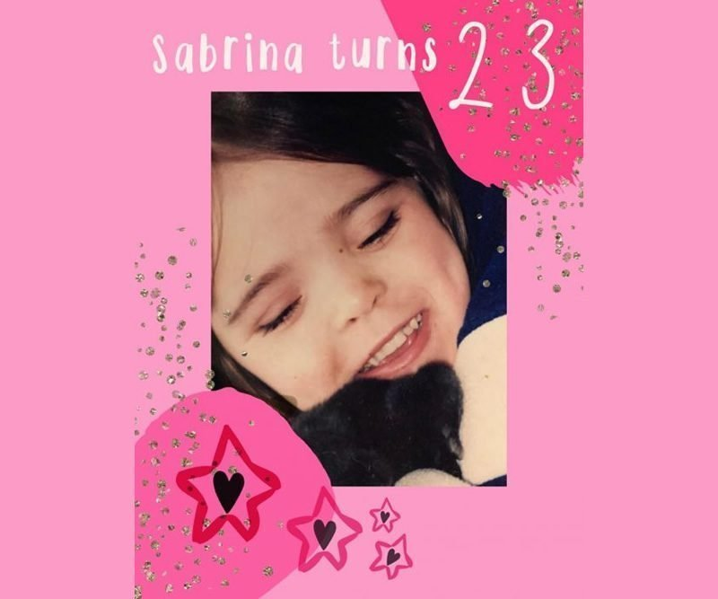 Happiest Birthday to our Angel SABRINA