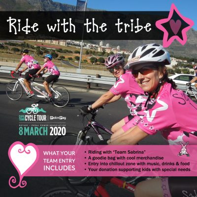 Cape Town Cycle Tour - Ride with the tribe, Sabrina Love