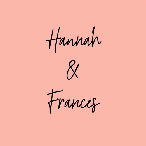 Frances Weiner > Support Hannah & Frances 1