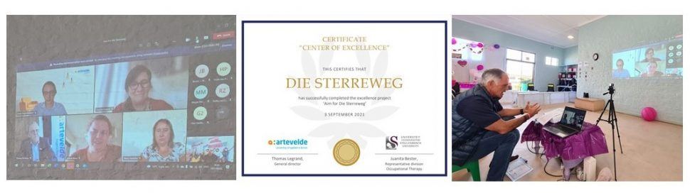 """Sabrina Love recognized as a """"Centre of Excellence"""" by Belgium University 4"""