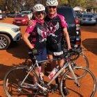 Philip Reunert cycling for Sabrina Love